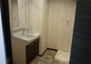 3階住宅内観:洗面所
